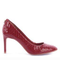 Scarpin Darlene 503-04647 Verniz Vermelho Marca Di Valentini
