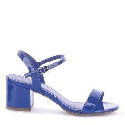 Sandália Mercy 3010-0028 Verniz Azul Marca Improviso