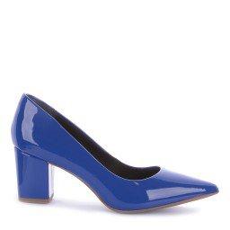 Scarpin Lores 3011-0029 Verniz Azul Marca Improviso