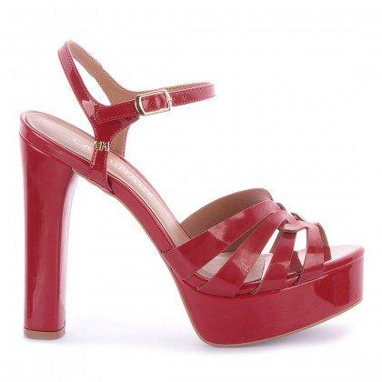 Sapato Feminino,Calçado Feminino,Calcado Feminino,Trend,Comfy,Vizzano,Fashion Consulting ,Sandalia,Liz,Verniz,Salto Alto,Sandalia Liz,Sandalia preta