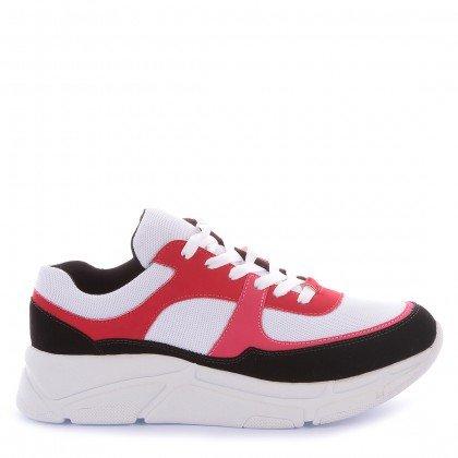 Tênis Sneaker Loft Nobuck Preto Marca Di Valentini