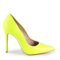 Scarpin Tayne 1023-80737 Napa Neon Verde Marca L'atelier