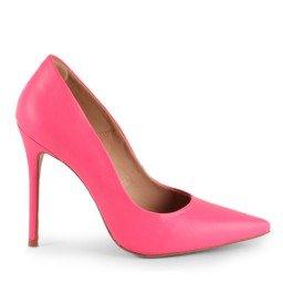 Scarpin Tayne 1023-80737 Napa Neon Rosa Marca L'atelier