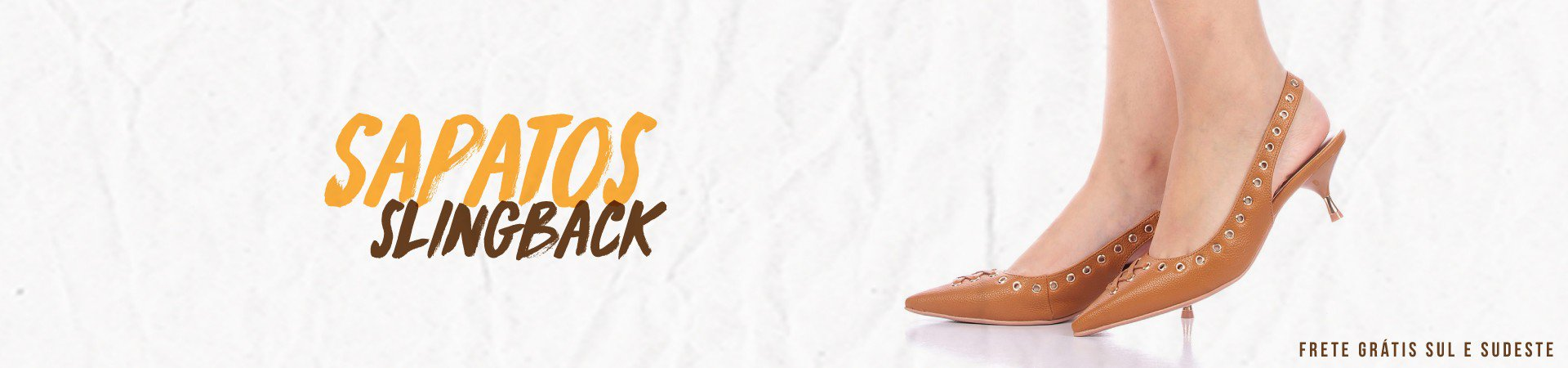 sapatos slingback