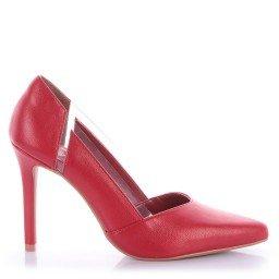 Scarpin Pollini 4032-05423 Napa Vermelho Marca Di Valentini