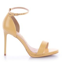 Sandália Tabata 1014-80634 Napa Amarelo Marca Improviso