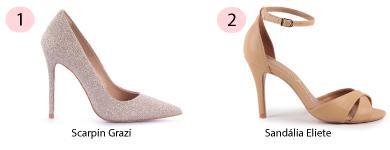 Scarpin e sandlia