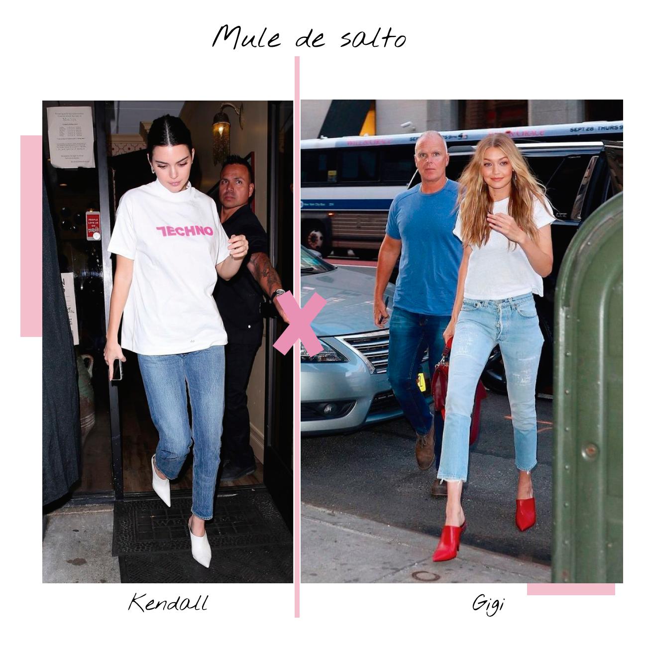 Mule Kendall E gigi