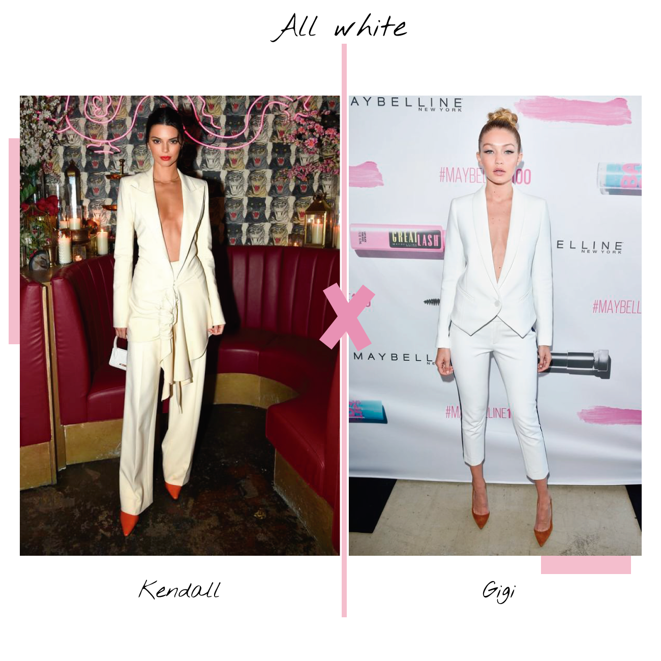All white kendall e gigi