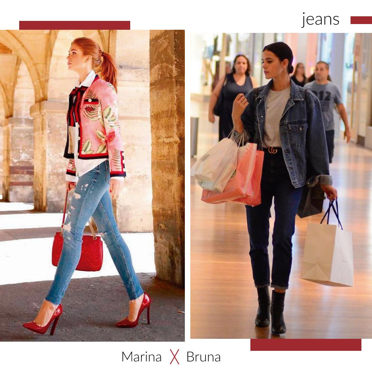 jeans marina ruim barbosa e bruna marquezine