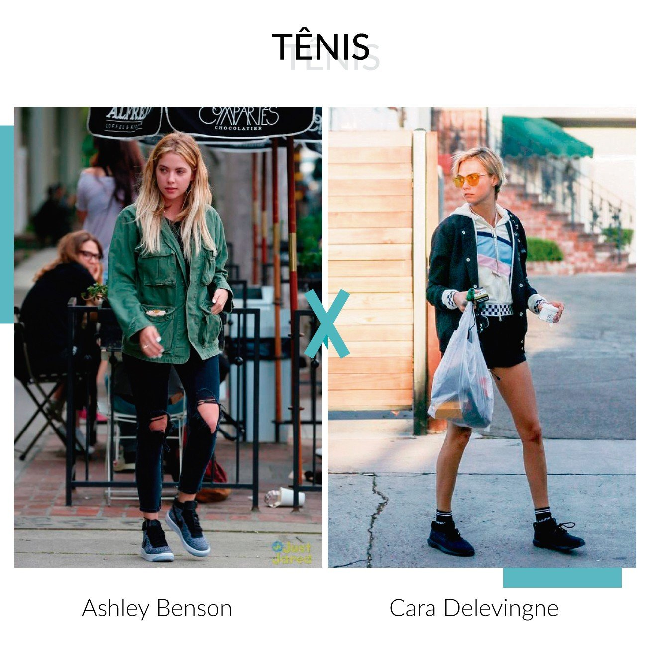 Tnis ashley benson e cara delevingne