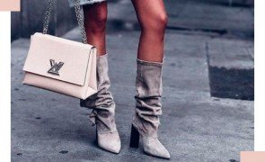 Slouch Boot tendncia