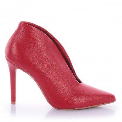 Ankle Boot Esmí 4032-05425 Napa Vermelho Marca Di Valentini