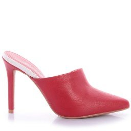 Mule Candi 4064-05414 Napa Vermelho Marca Di Valentini