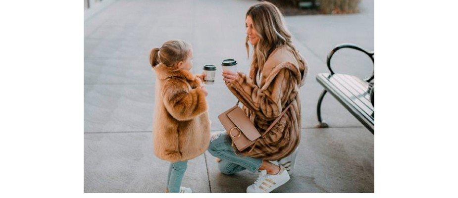 Os estilos de mães e filhas famosas