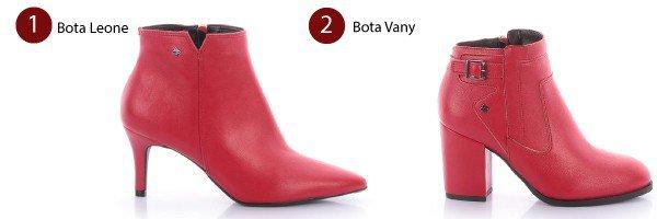 botas vermelha