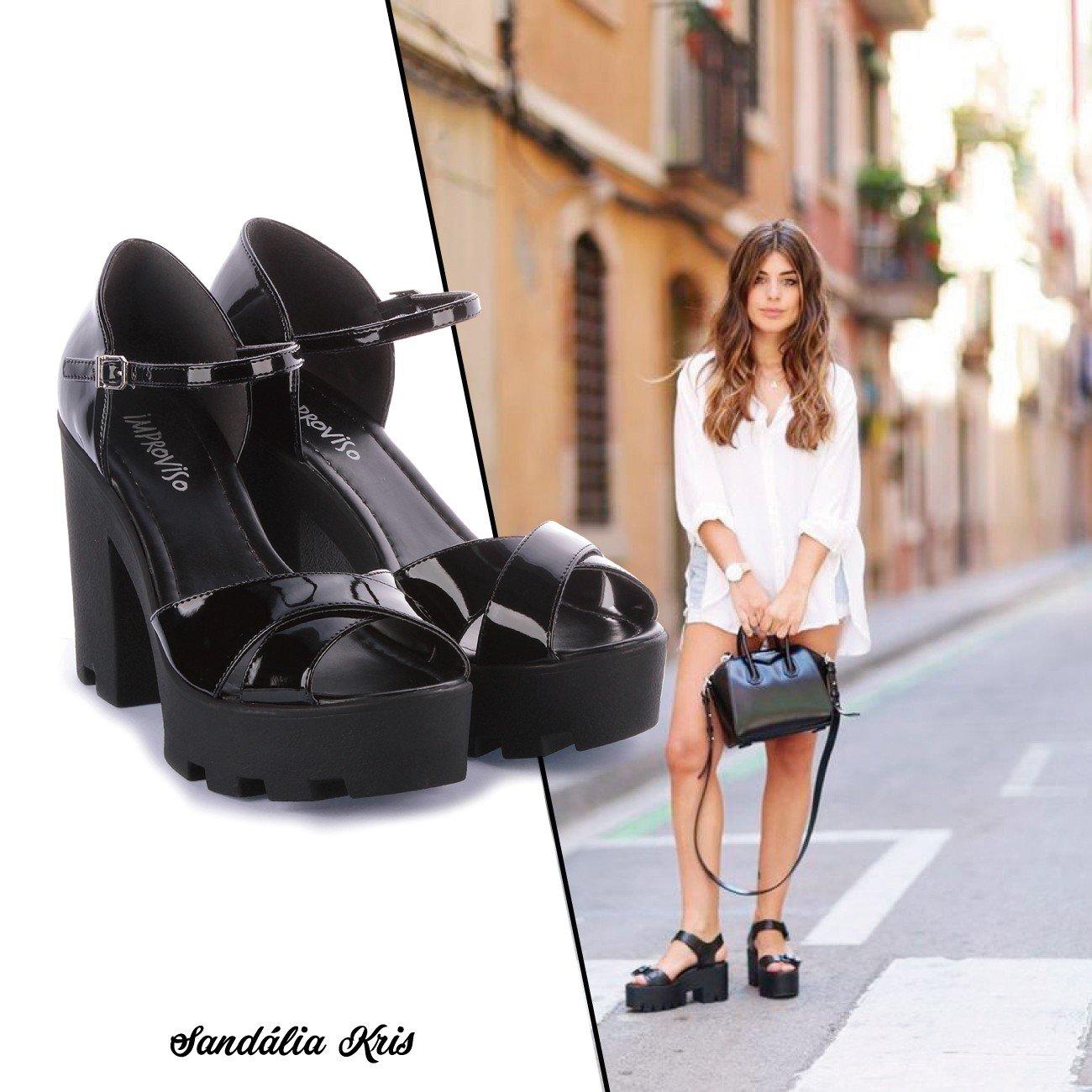 sandlia tratorada look