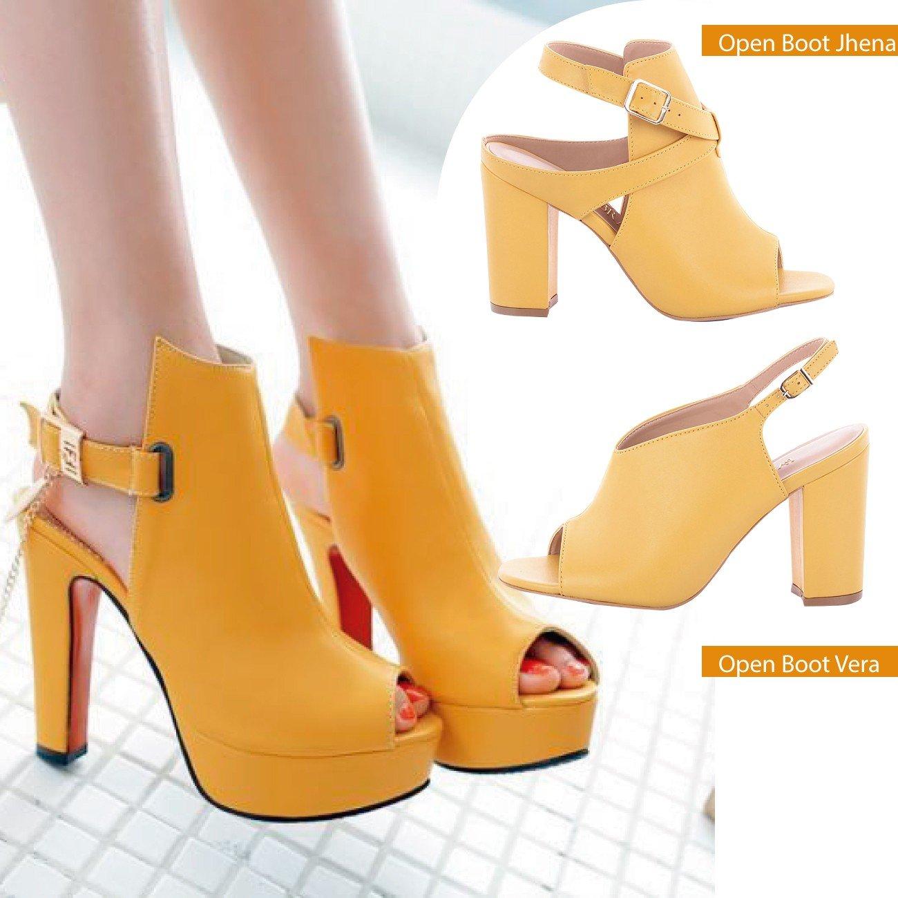 open boot amarelo