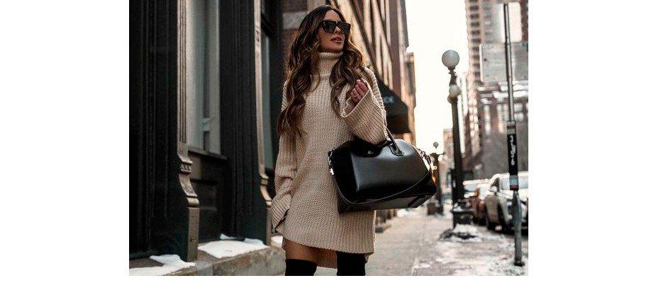 É possível usar saia ou vestido no outono-inverno?