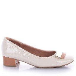 Sapato Usaflex 2702 Verniz Off White