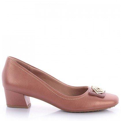 Sapato Usaflex 6556 Napa Rosê Usaflex