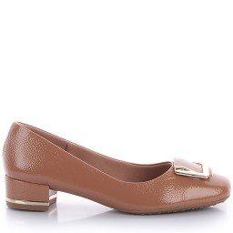 Sapato Usaflex Y5107 Verniz Nude
