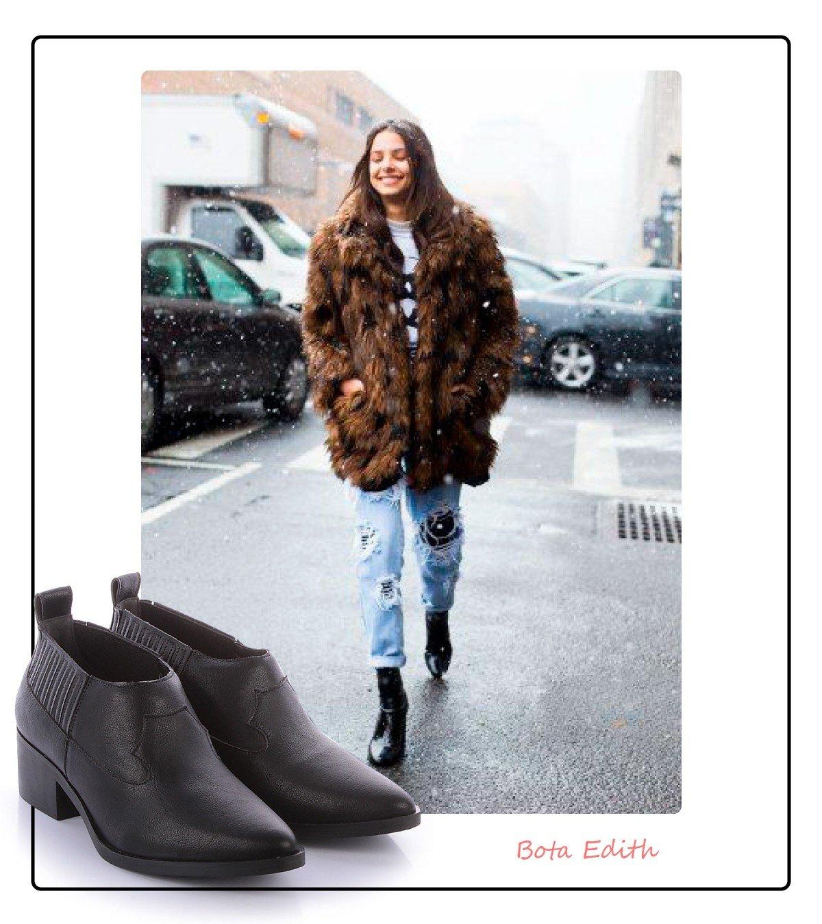 look boot preta