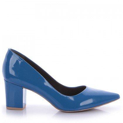 Scarpin Lores Improvisso 3011-0029 Verniz Azul