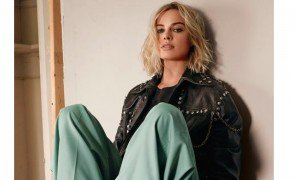 casual chic margot robbie