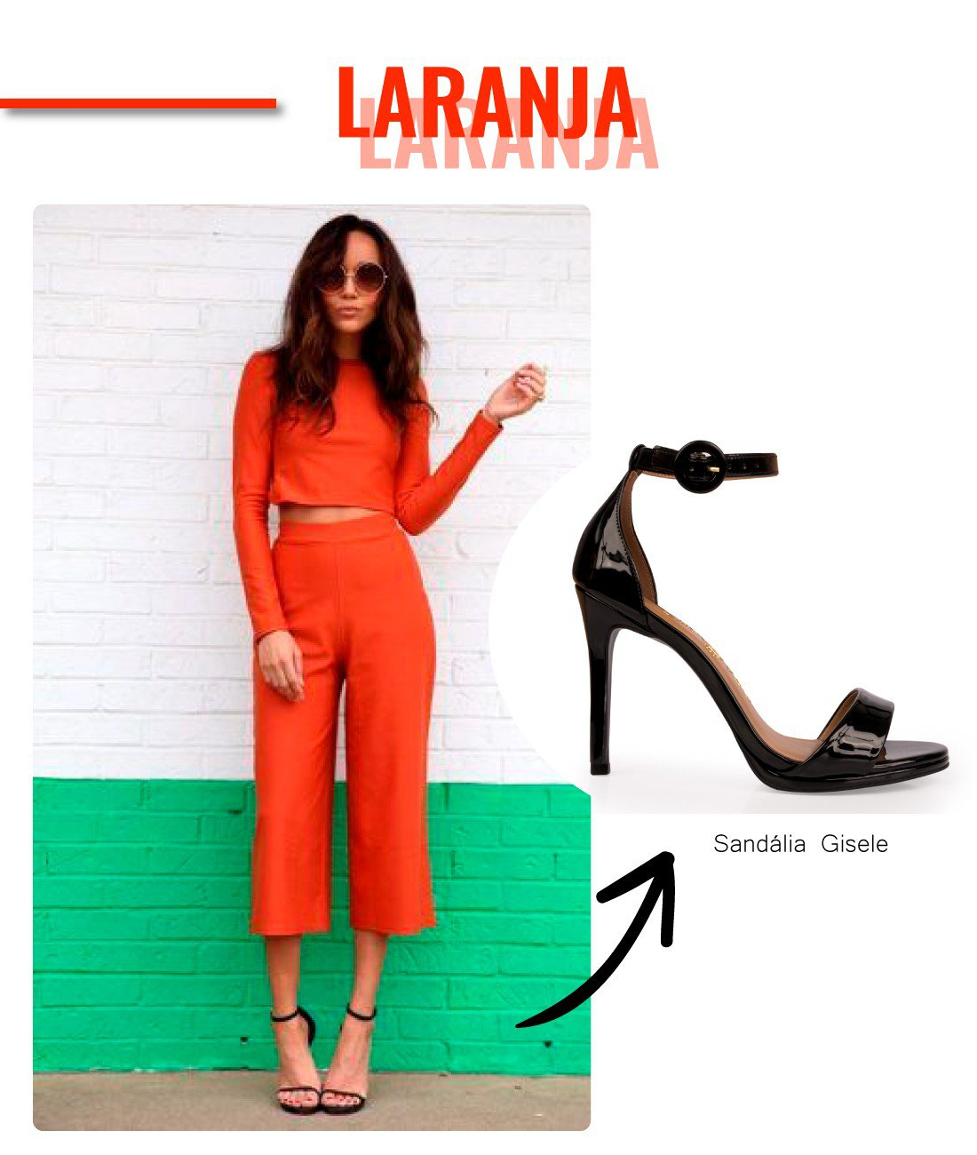 look laranja