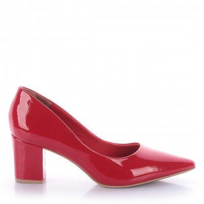 Scarpin Francis 4062-05572 Verniz Vermelho Marca Di Valentini