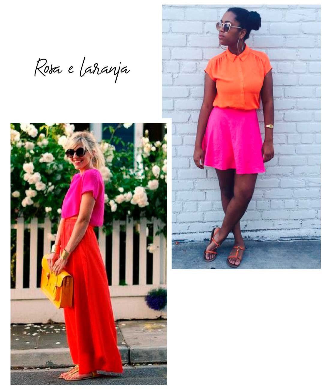 rosa e laranja