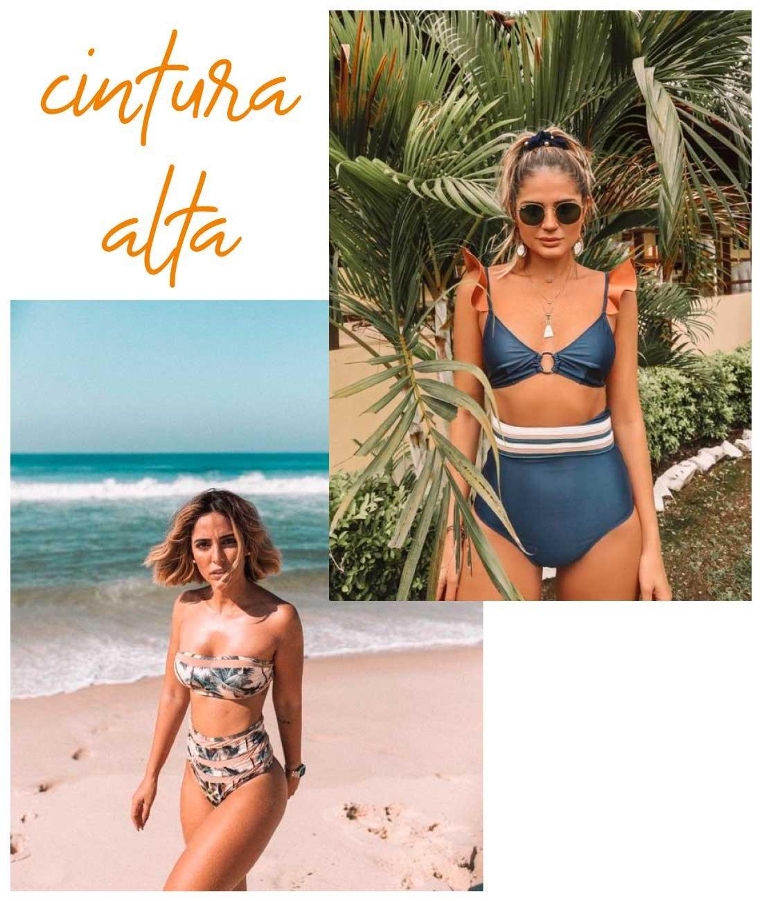 beachwear cintura alta