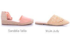 sandalia e mule