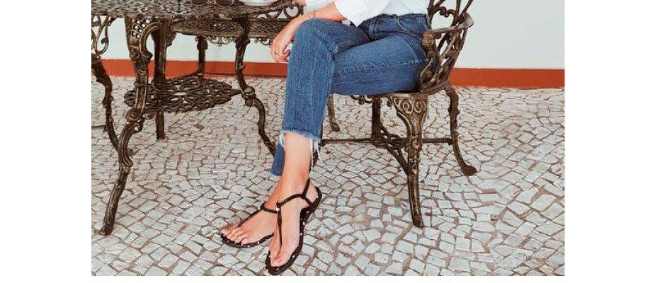 Duo infalível: Jeans e flat
