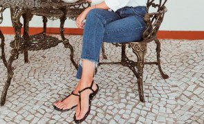 jeans e flat