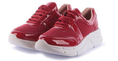 tenis lenny vermelho