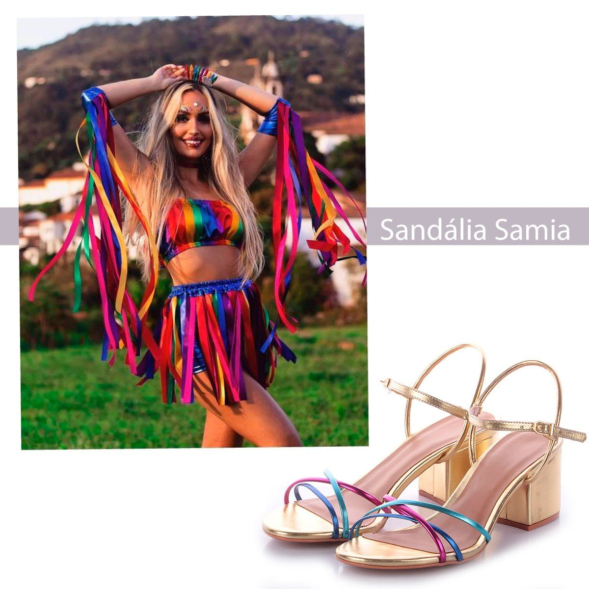 sandalia samia