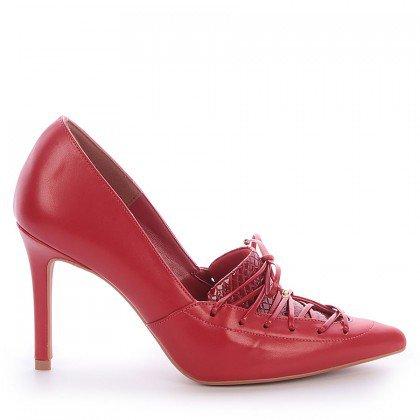 Sapato Bico Fino Vermelho L'atelier