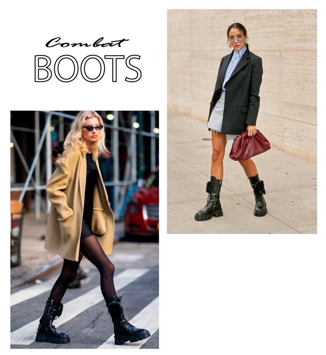 trend combat boots