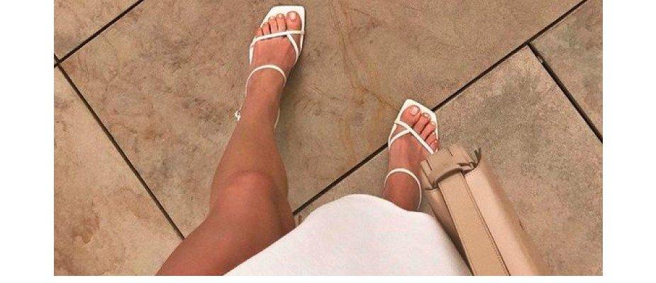 Square toes: A nova trend!