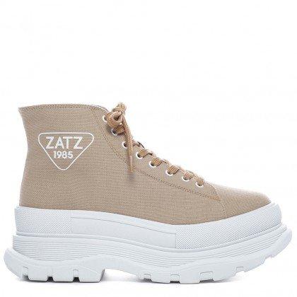 Tênis 80's Zatz Lona Marrom