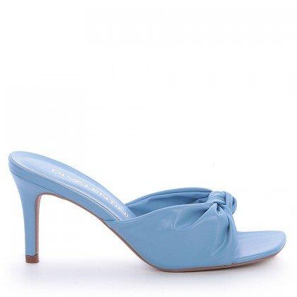 Tamanco Thuira Di Valentini Napa Azul