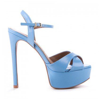 Sandália Kati Paula Brazil Napa Azul