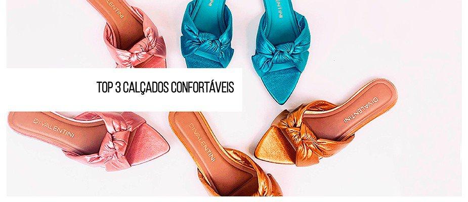 Calçados com conforto - nova tendência