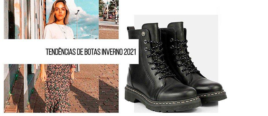 Botas para o inverno 2021 - o que vai ser tendência