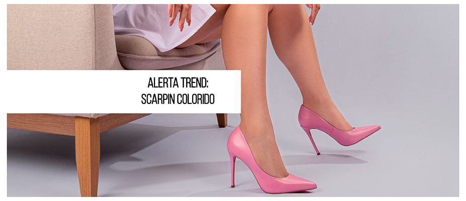 Alerta Trend: Scarpin Colorido