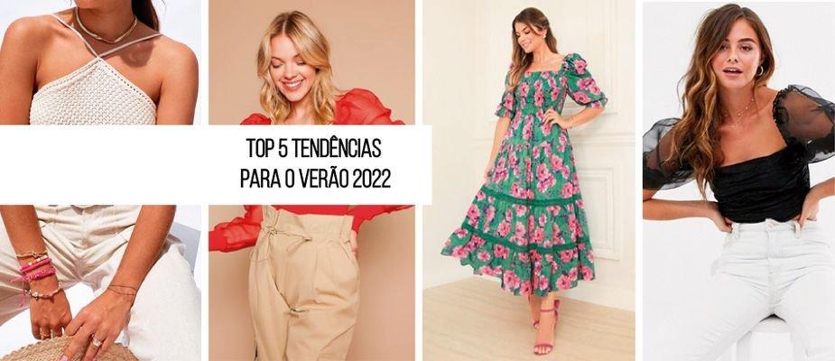 Top 5 tendências para o verão 2022