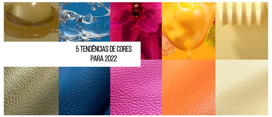 5 tendências de cores para 2022